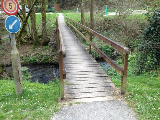 Hidden Valley Touring & Camping Park: The Bridge across the stream by the park