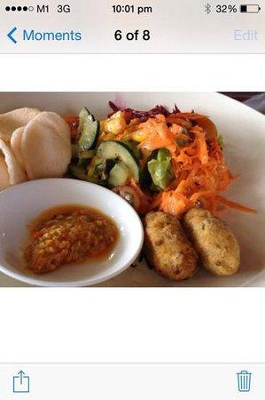 Cafe Batu Jimbar: indonesian Tapas