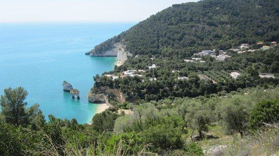 Mattinata, Italien: Baia dei Mergoli