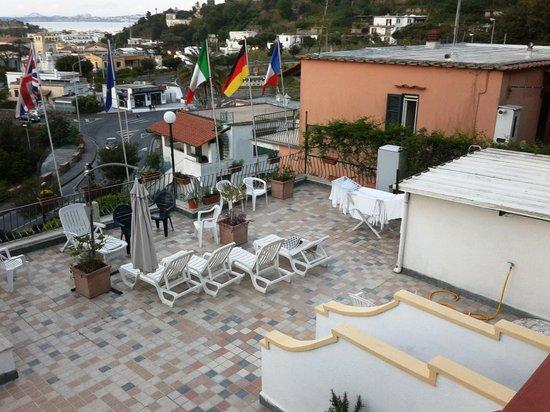 Hotel New Crostolo: solarium dell'hotel