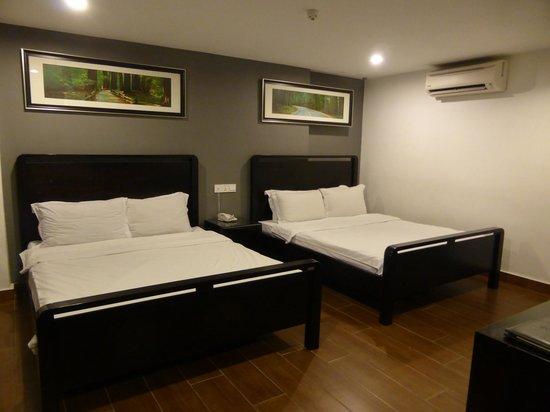 Crossroads Hotel : chambre familiale