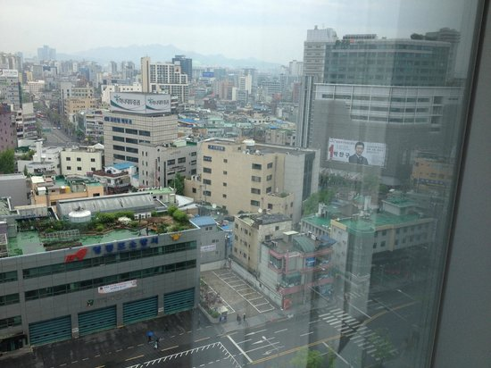 Courtyard Seoul Times Square : View From Room (11th Floor)