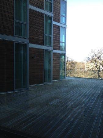 Clarion Hotel Stockholm: Вид из окон лобби одного из этажей