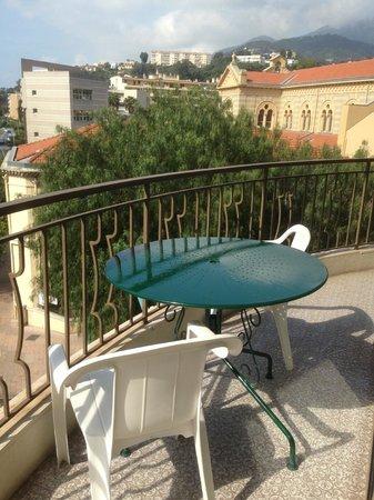Moderne Hotel: Terrasse