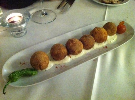 Restaurante El Navarro : Croquetas curry