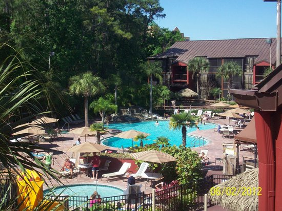 Parkway International Resort: View from Balcony