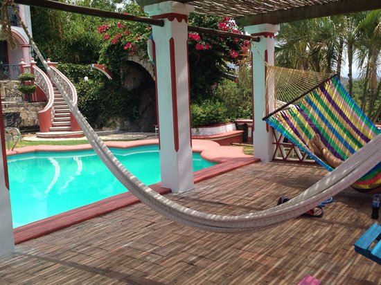 Hotel Paraiso Escondido: Great hammocks.