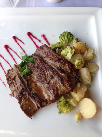Catalonia Riviera Maya: Mexican style steak (arrachera) from the steakhouse.