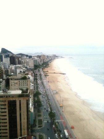 Hotel Marina Palace Rio Leblon: excellent view
