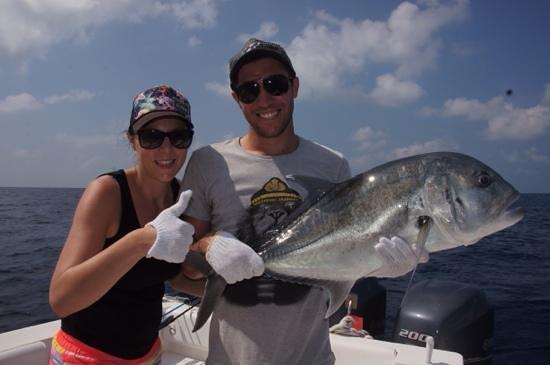 Maakeyolhu Fishing Charters: GT