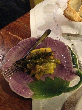 Gli Attortellati: Polenta con asparagi