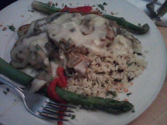 Nick's 22nd Street Steakhouse Restaurant : Parm. Crusted Chicken