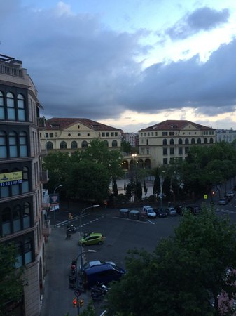 Hotel Sant Antoni: Visuale dalla finestra