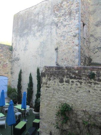 Hotel L'Herbier d Orange : Backyard