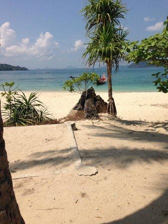 Bon Island Restaurant: Lovely beach on Bon Island