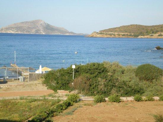 Aegeon Beach Hotel: Θέα από το δωμάτιο!