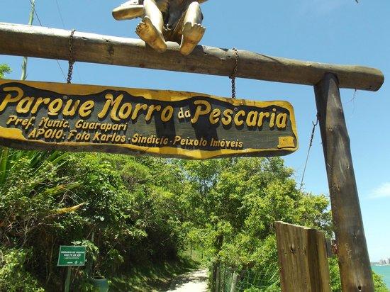 Morro Beach : Entrada do morro da pescaria - Guarapari - ES - BR