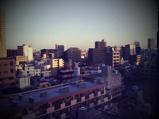 Nishitetsu Inn Shinjuku : view from window