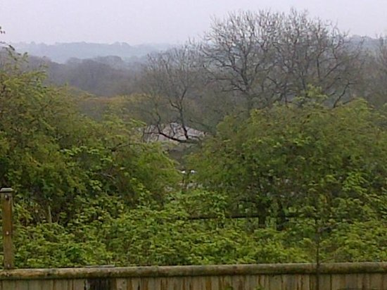 Gower View Luxury Bed & Breakfast : The view from the upper Bedroom