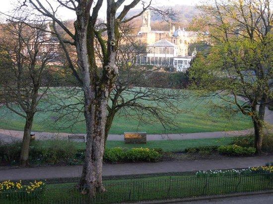 Grosvenor House : 公園を一望