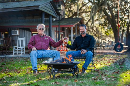 Firefly Distillery: Jim and Scott work hard to bring you the best
