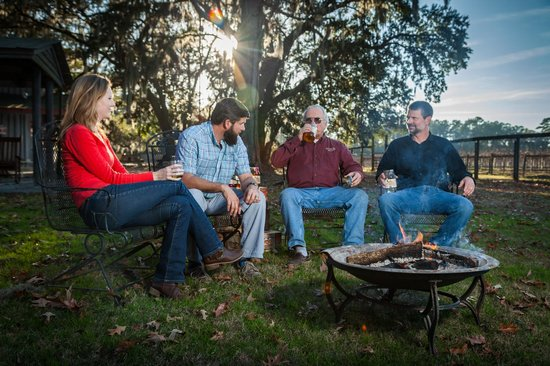 Firefly Distillery: Sit back and relax