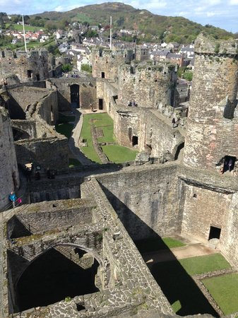 Conwy Castle : Views