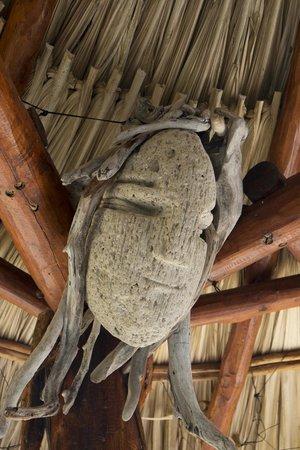 Casa Caracola : Balcony sculpture