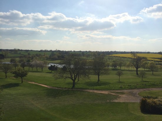 BEST WESTERN PLUS Coventry Windmill Village Hotel Golf & Spa: amazing view