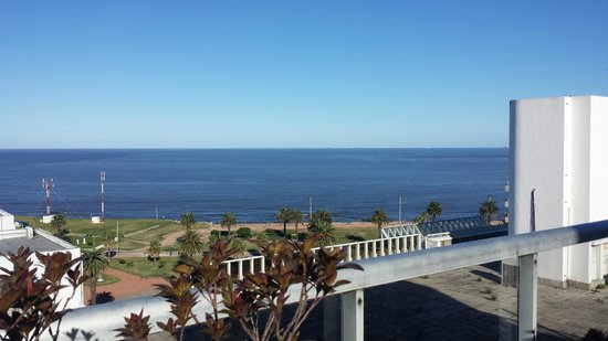 Punta Trouville Hotel: Vista do terraço