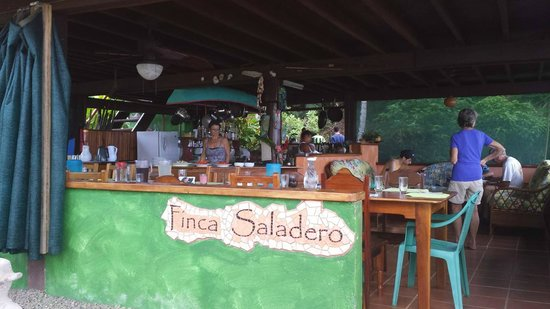 Saladero Eco Lodge : Main kitchen, dining and lounge area