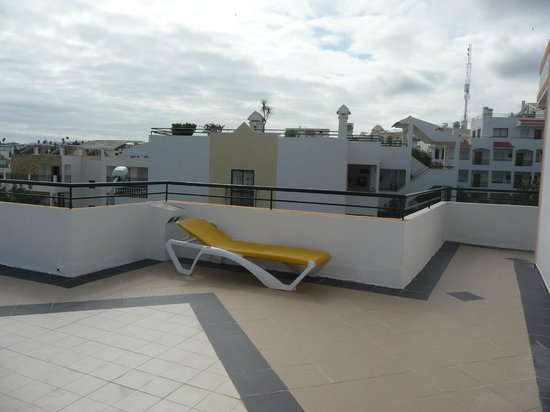 Cerro Malpique Aparthotel : Roof terrace