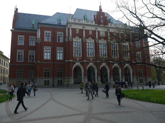 Jagiellonian University - Collegium Maius : Фасад