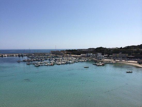 Palazzo de Mori: Vista sul porto