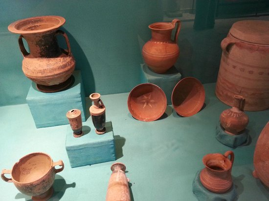 Unearther Clay Made Pots Bowls And Vases Picture Of Archeological