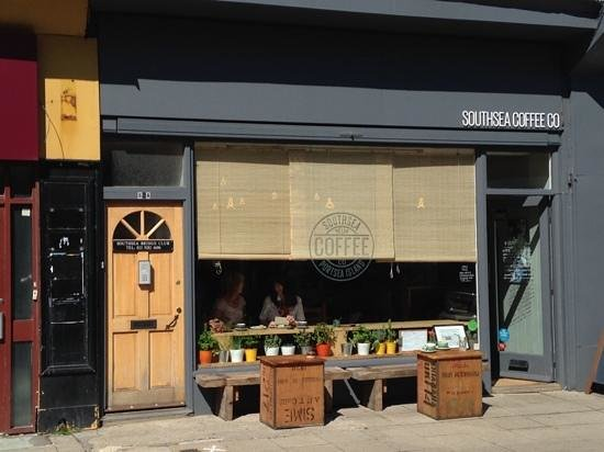 Southsea Coffee Co: Welcoming Exterior