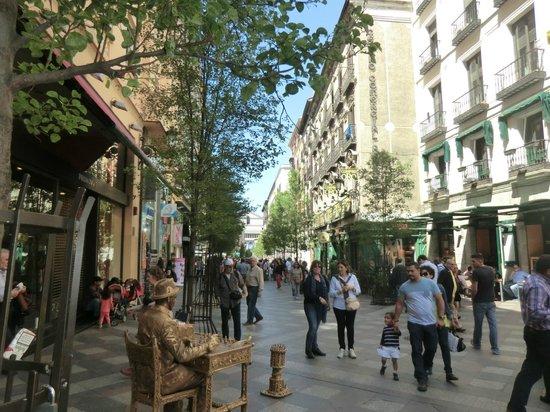 Petit Palace Puerta Del Sol: calle Arenal