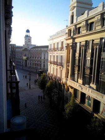 Petit Palace Puerta Del Sol: vista puerta del sol