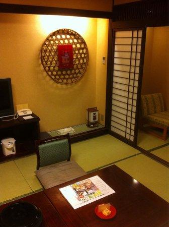 Takayama Green Hotel: Nice Decor
