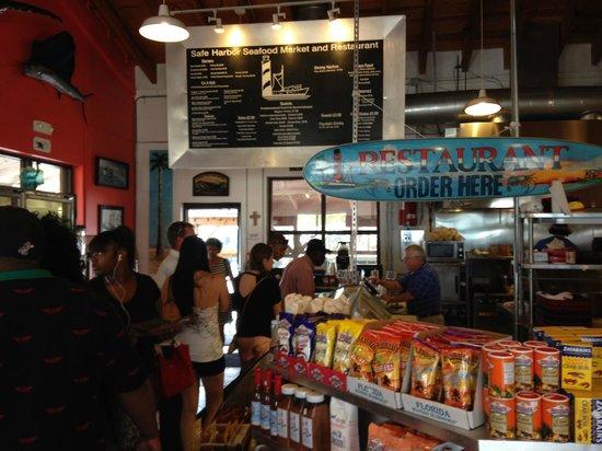 Safe Harbor Seafood Market & Restaurant: Order line