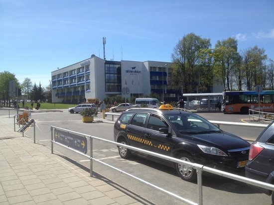 AirInn Vilnius Hotel: Расстояние от выхода из аэропорта до отеля