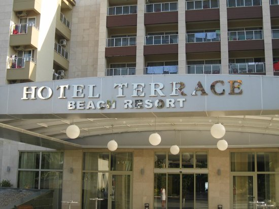 Hotel Terrace Beach Resort: frontzicht