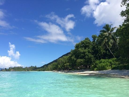 Hilton Seychelles Labriz Resort & Spa : Traumstrand