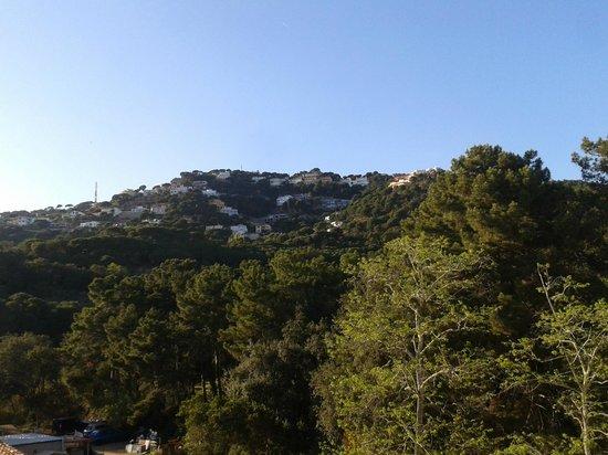 Els Llorers : vistas montaña