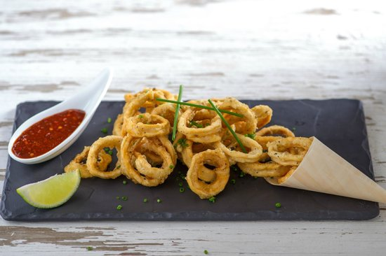 Gaylord Restaurant: Calamari Black Pepper