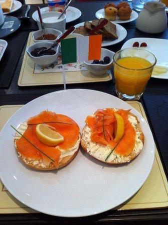 Colette Carter B&B : breakfast