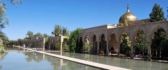 Palais Namaskar : jardins