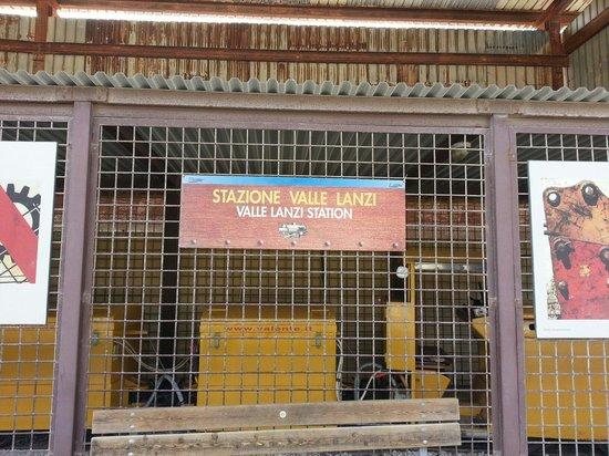 Il Parco Archeominerario di San Silvestro : Stazione valle lanzi