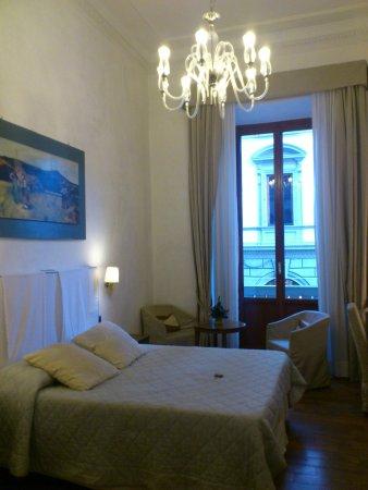 Il Salotto di Firenze: ベッドルーム