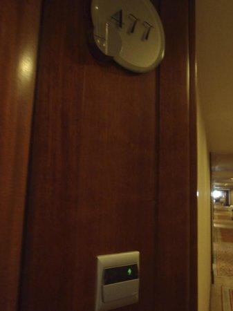 Jin Jiang Hotel : Room door